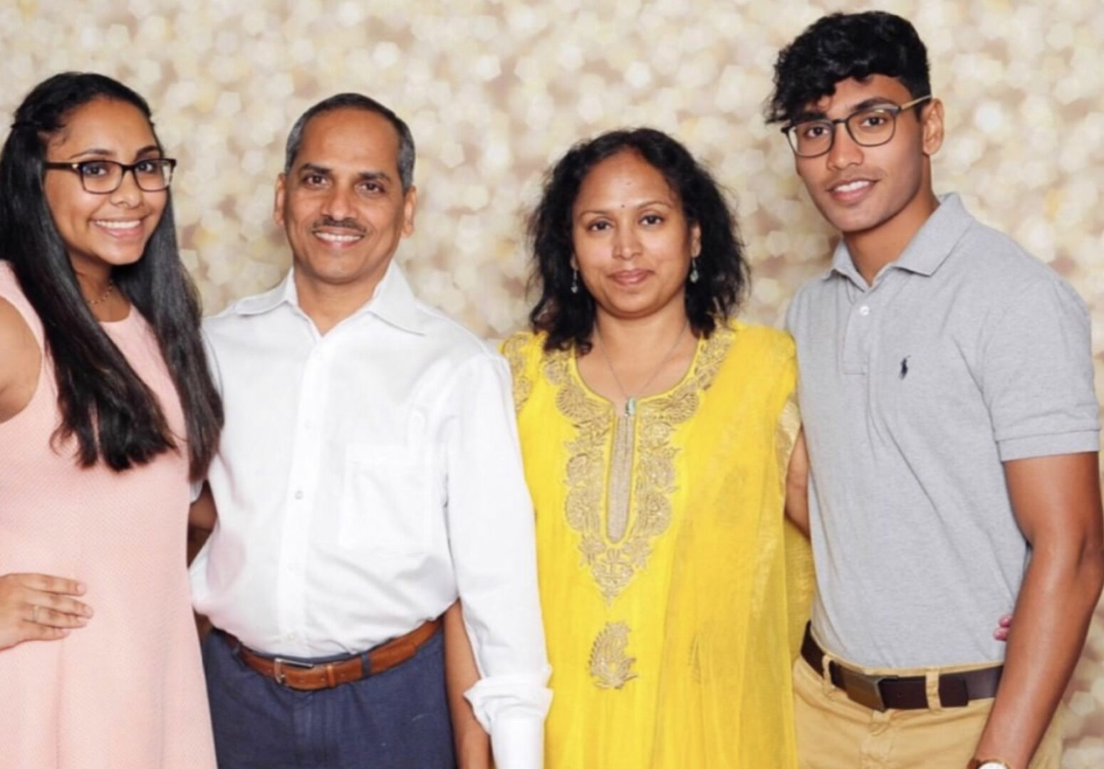 Dr.Raguthu and her husband Dr.Chinta family